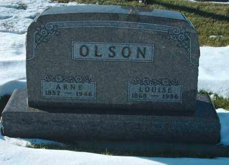 STENSON OLSON, LOUISE - Kingsbury County, South Dakota | LOUISE STENSON OLSON - South Dakota Gravestone Photos