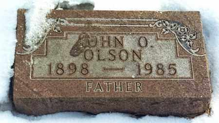 OLSON, JOHN OLIVER - Kingsbury County, South Dakota   JOHN OLIVER OLSON - South Dakota Gravestone Photos