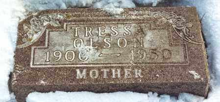 JENSEN OLSON, TRESSA IDA - Kingsbury County, South Dakota | TRESSA IDA JENSEN OLSON - South Dakota Gravestone Photos