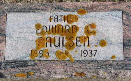 PAULSEN, EDWARD C. - Kingsbury County, South Dakota | EDWARD C. PAULSEN - South Dakota Gravestone Photos