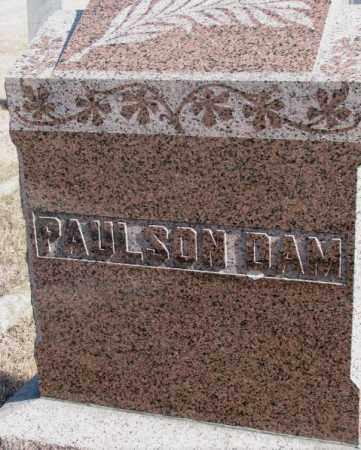 PAULSON DAM, PLOT - Kingsbury County, South Dakota | PLOT PAULSON DAM - South Dakota Gravestone Photos