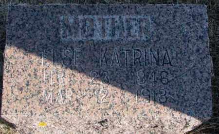 PAULSON, ELSE KATRINA - Kingsbury County, South Dakota   ELSE KATRINA PAULSON - South Dakota Gravestone Photos