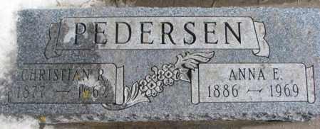 PEDERSEN, ANNA E. - Kingsbury County, South Dakota | ANNA E. PEDERSEN - South Dakota Gravestone Photos