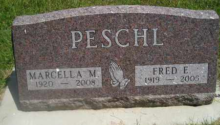 PESCHL, FRED E. - Kingsbury County, South Dakota | FRED E. PESCHL - South Dakota Gravestone Photos