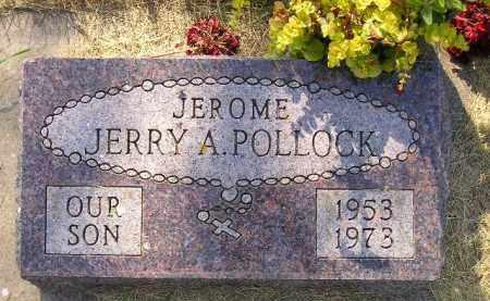 "POLLOCK, JEROME A. ""JERRY"" - Kingsbury County, South Dakota | JEROME A. ""JERRY"" POLLOCK - South Dakota Gravestone Photos"
