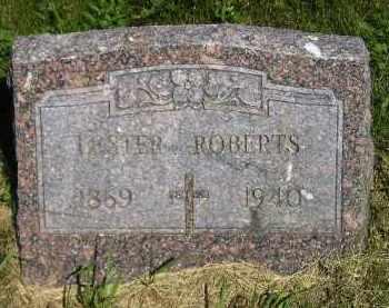 ROBERTS, LESTER - Kingsbury County, South Dakota   LESTER ROBERTS - South Dakota Gravestone Photos