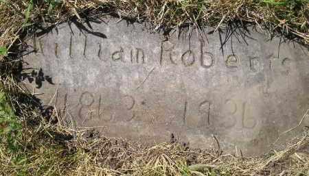 ROBERTS, WILLIAM - Kingsbury County, South Dakota   WILLIAM ROBERTS - South Dakota Gravestone Photos