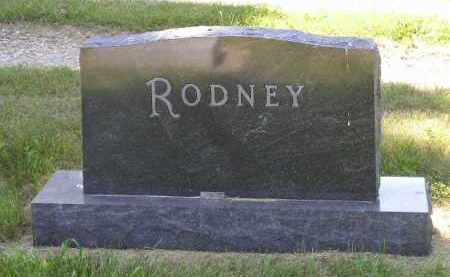 RODNEY, FAMILY STONE - Kingsbury County, South Dakota | FAMILY STONE RODNEY - South Dakota Gravestone Photos