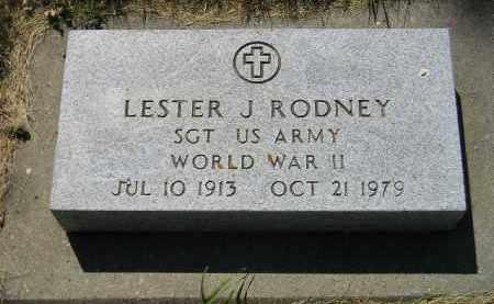 RODNEY, LESTER J. - Kingsbury County, South Dakota | LESTER J. RODNEY - South Dakota Gravestone Photos
