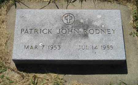 RODNEY, PATRICK JOHN - Kingsbury County, South Dakota | PATRICK JOHN RODNEY - South Dakota Gravestone Photos