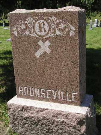 ROUNSEVILLE, FAMILY STONE - Kingsbury County, South Dakota | FAMILY STONE ROUNSEVILLE - South Dakota Gravestone Photos