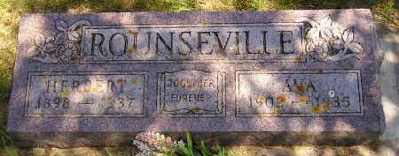 ROUNSEVILLE, HERBERT - Kingsbury County, South Dakota   HERBERT ROUNSEVILLE - South Dakota Gravestone Photos