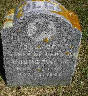 ROUNSEVILLE, OLGA - Kingsbury County, South Dakota | OLGA ROUNSEVILLE - South Dakota Gravestone Photos