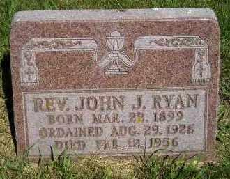 RYAN, JOHN J. (REV.) - Kingsbury County, South Dakota   JOHN J. (REV.) RYAN - South Dakota Gravestone Photos