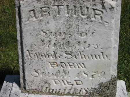 SCHAUB, ARTHUR - Kingsbury County, South Dakota | ARTHUR SCHAUB - South Dakota Gravestone Photos
