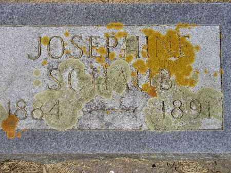 SCHAUB, JOSEPHINE - Kingsbury County, South Dakota | JOSEPHINE SCHAUB - South Dakota Gravestone Photos