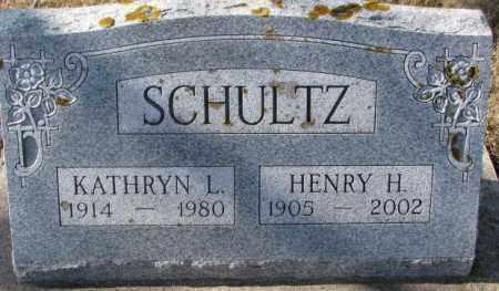 SCHULTZ, HENRY H. - Kingsbury County, South Dakota | HENRY H. SCHULTZ - South Dakota Gravestone Photos
