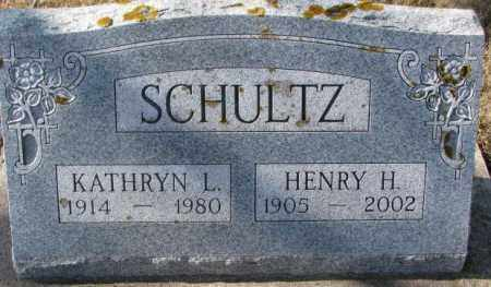 SCHULTZ, HENRY H. - Kingsbury County, South Dakota | HENRY H. SCHULTZ - South Dakota Gravestone Photos