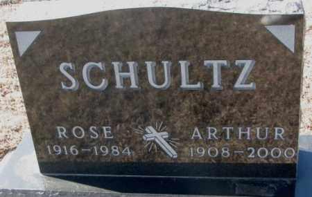 SCHULTZ, ARTHUR - Kingsbury County, South Dakota   ARTHUR SCHULTZ - South Dakota Gravestone Photos