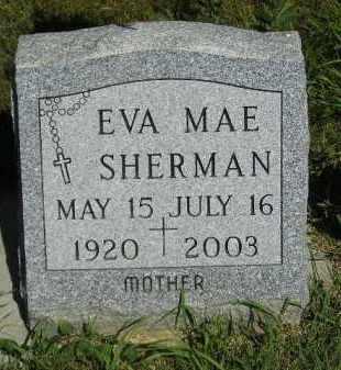 SHERMAN, EVA MAE - Kingsbury County, South Dakota | EVA MAE SHERMAN - South Dakota Gravestone Photos