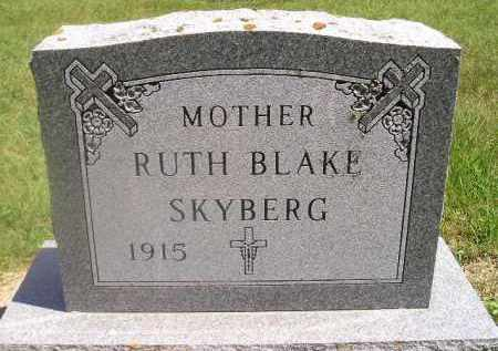 SKYBERG, RUTH - Kingsbury County, South Dakota | RUTH SKYBERG - South Dakota Gravestone Photos
