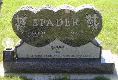 SPADER, MARY - Kingsbury County, South Dakota | MARY SPADER - South Dakota Gravestone Photos
