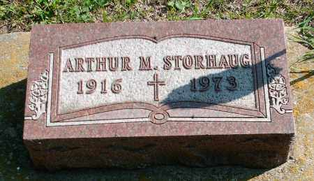 STORHAUG, ARTHUR M. - Kingsbury County, South Dakota   ARTHUR M. STORHAUG - South Dakota Gravestone Photos