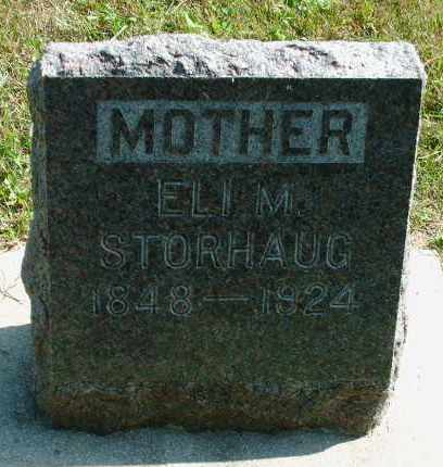 STORHAUG, ELI MARY - Kingsbury County, South Dakota | ELI MARY STORHAUG - South Dakota Gravestone Photos