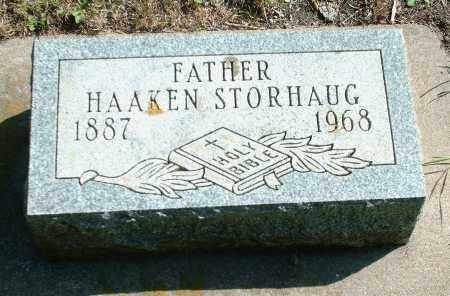 STORHAUG, HAAKEN - Kingsbury County, South Dakota   HAAKEN STORHAUG - South Dakota Gravestone Photos