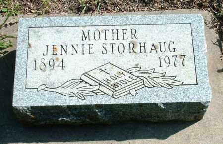 OLSON STORHAUG, JENNIE LOUISE - Kingsbury County, South Dakota | JENNIE LOUISE OLSON STORHAUG - South Dakota Gravestone Photos