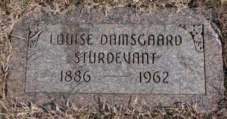 STURDEVANT, LOUISE - Kingsbury County, South Dakota   LOUISE STURDEVANT - South Dakota Gravestone Photos