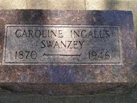 INGALLS SWANZEY, CAROLINE - Kingsbury County, South Dakota   CAROLINE INGALLS SWANZEY - South Dakota Gravestone Photos