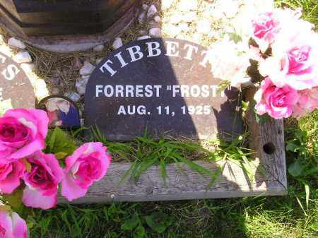 "TIBBETTS, FORREST ""FROSTY"" - Kingsbury County, South Dakota 