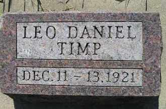 TIMP, LEO DANIEL - Kingsbury County, South Dakota | LEO DANIEL TIMP - South Dakota Gravestone Photos
