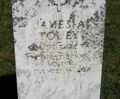 TOUEY, JAMES A. - Kingsbury County, South Dakota | JAMES A. TOUEY - South Dakota Gravestone Photos