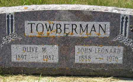 TOWBERMAN, OLIVE M. - Kingsbury County, South Dakota | OLIVE M. TOWBERMAN - South Dakota Gravestone Photos