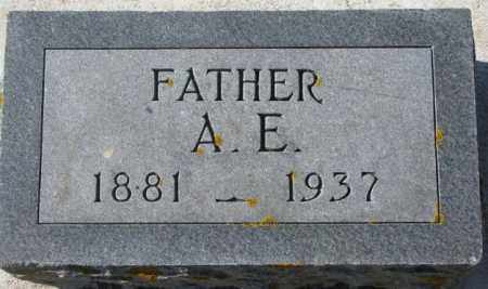 TOWNSEND, A.E. - Kingsbury County, South Dakota | A.E. TOWNSEND - South Dakota Gravestone Photos