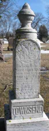 TOWNSEND, DAVID - Kingsbury County, South Dakota | DAVID TOWNSEND - South Dakota Gravestone Photos