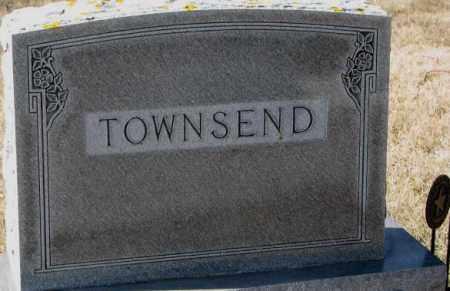 TOWNSEND, PLOT - Kingsbury County, South Dakota | PLOT TOWNSEND - South Dakota Gravestone Photos