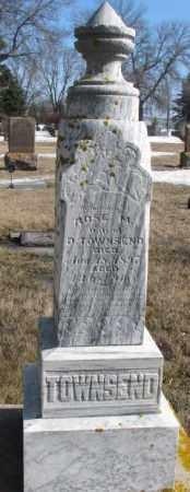 TOWNSEND, ROSE M. - Kingsbury County, South Dakota   ROSE M. TOWNSEND - South Dakota Gravestone Photos