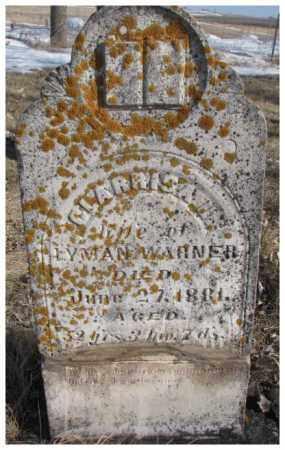 WARNER, CLARRISA - Kingsbury County, South Dakota | CLARRISA WARNER - South Dakota Gravestone Photos