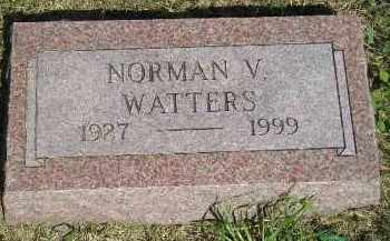 WATTERS, NORMAN V. - Kingsbury County, South Dakota | NORMAN V. WATTERS - South Dakota Gravestone Photos