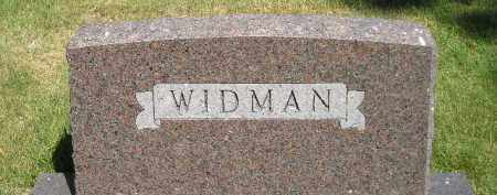 WIDMAN, FAMILY STONE - Kingsbury County, South Dakota | FAMILY STONE WIDMAN - South Dakota Gravestone Photos