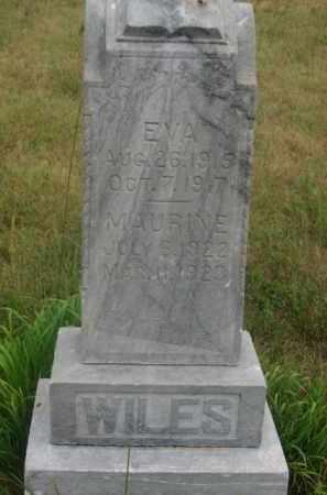 WILES, MAURINE - Kingsbury County, South Dakota | MAURINE WILES - South Dakota Gravestone Photos