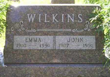 WILKINS, EMMA - Kingsbury County, South Dakota   EMMA WILKINS - South Dakota Gravestone Photos