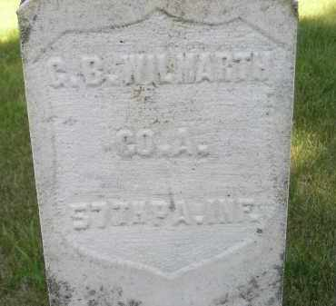 WILMARTH, G.B. - Kingsbury County, South Dakota | G.B. WILMARTH - South Dakota Gravestone Photos
