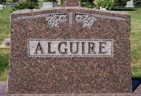 ALGUIRE, FAMILY MARKER - Lake County, South Dakota | FAMILY MARKER ALGUIRE - South Dakota Gravestone Photos