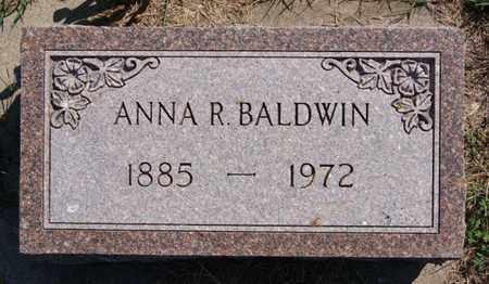 BALDWIN, ANNA R - Lake County, South Dakota | ANNA R BALDWIN - South Dakota Gravestone Photos