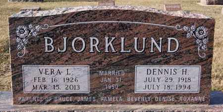 BJORKLUND, DENNIS H - Lake County, South Dakota | DENNIS H BJORKLUND - South Dakota Gravestone Photos