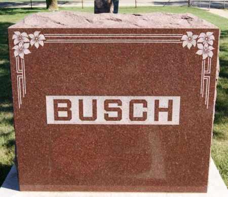 BUSCH, FAMILY MARKER - Lake County, South Dakota | FAMILY MARKER BUSCH - South Dakota Gravestone Photos